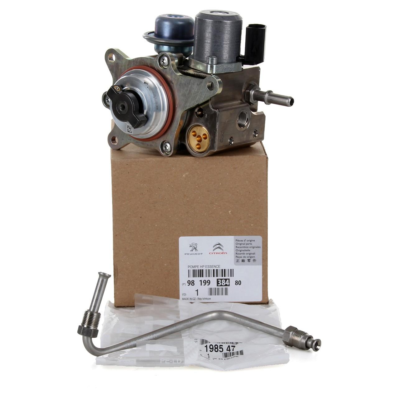 ORIGINAL Citroen Kraftstoffpumpe 9819938480 + Kraftstoffleitung 1985.47 für 1.6