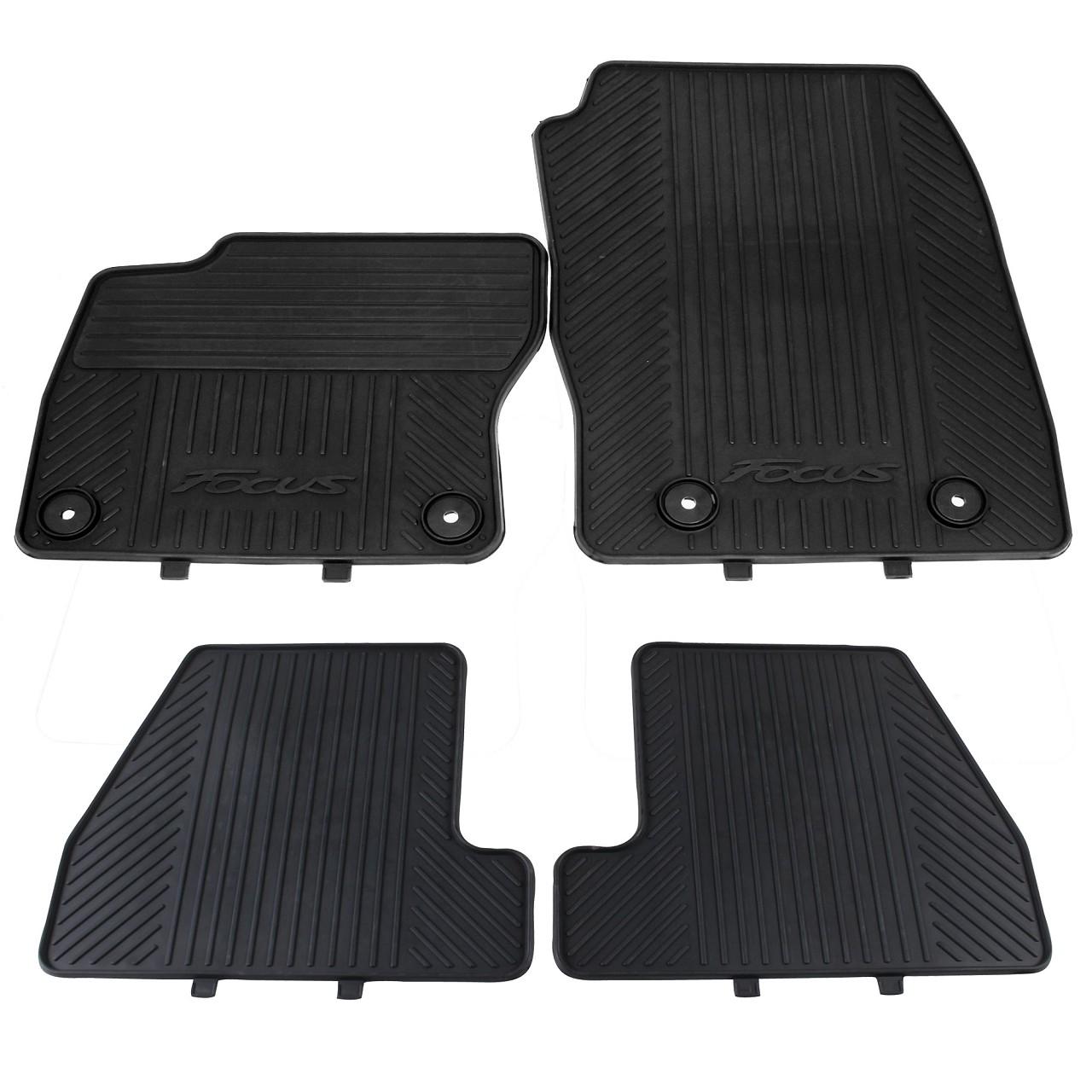 ORIGINAL Ford Gummimatten Fußmatten Automatten Satz Focus III ab 02.2015 4-tlg