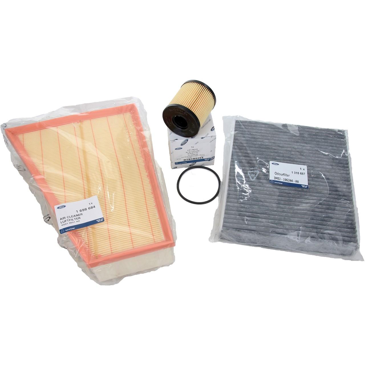 ORIGINAL Ford Inspektionskit Filterpaket Filterset Galaxy Mondeo 4 S-Max 2.0TDCi