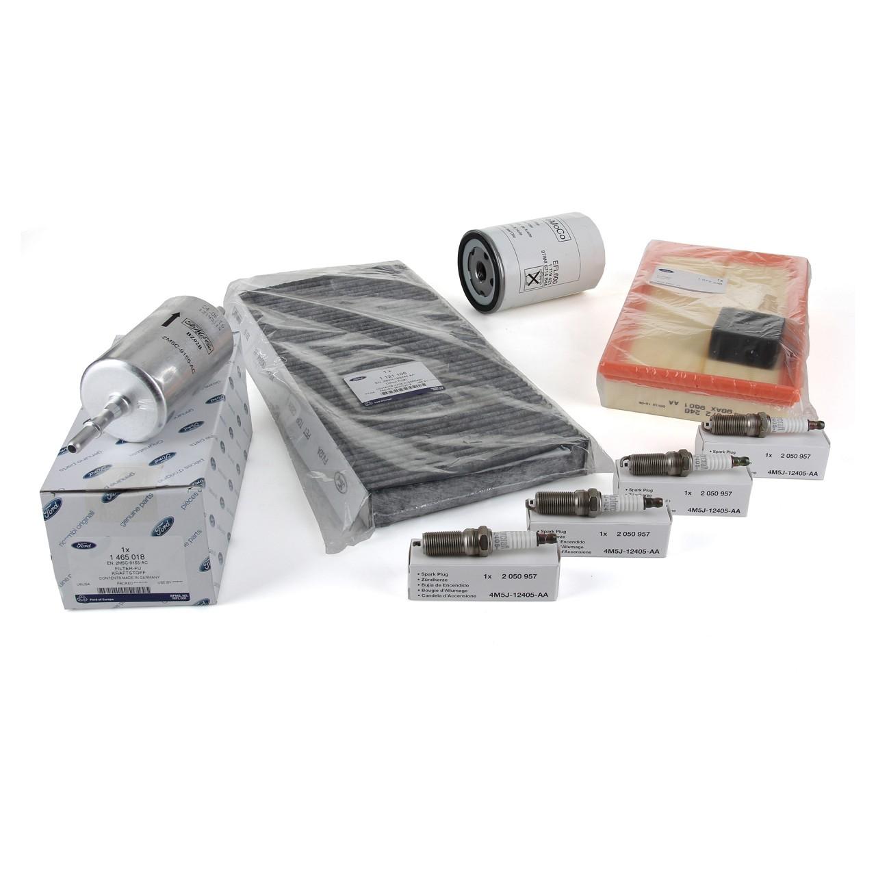 ORIGINAL Ford Inspektionskit Filterpaket Filterset FOCUS I MK1 1.6/1.8/2.0 16V