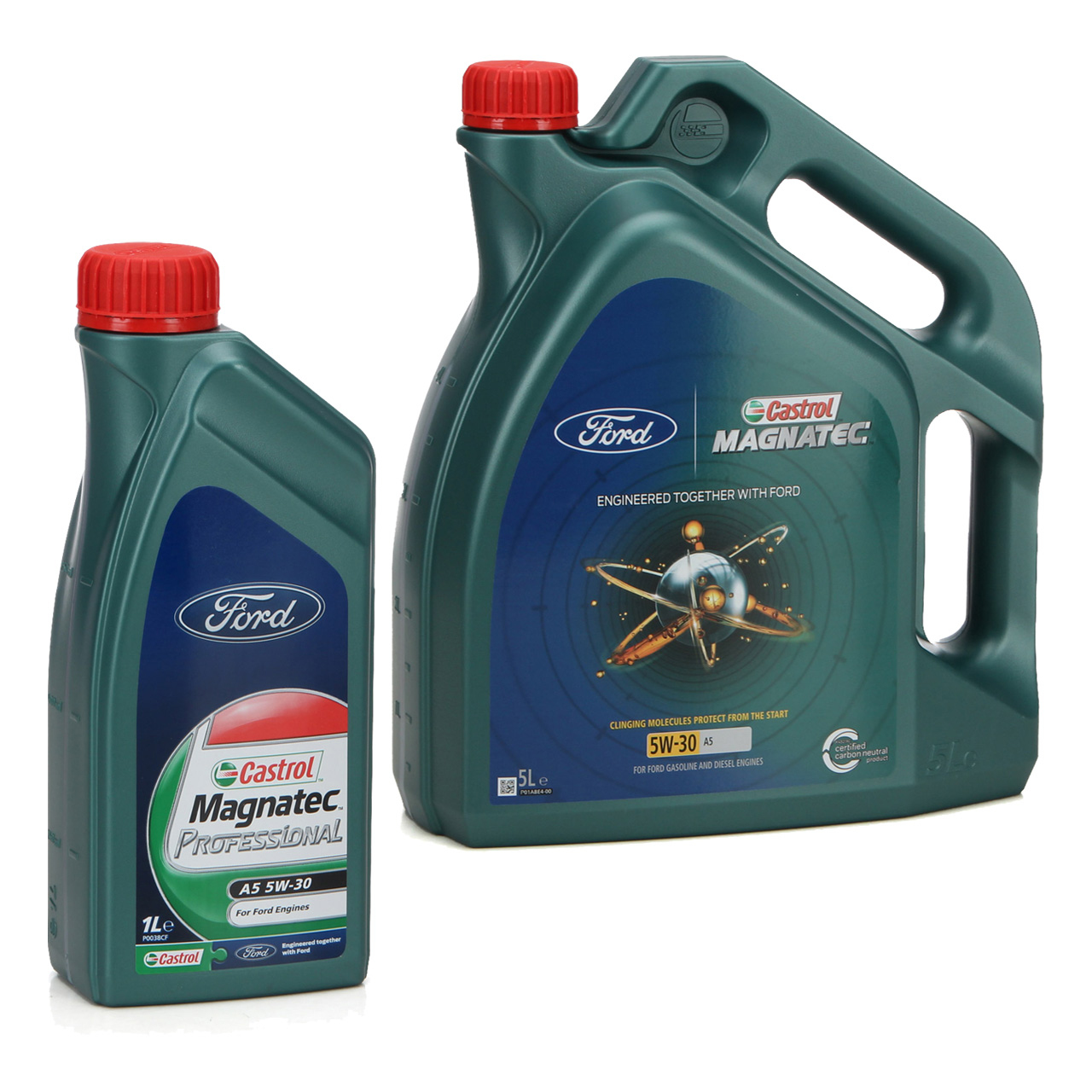 ORIGINAL Ford Motoröl Öl CASTROL Magnatec Professional A5 5W30 6 Liter
