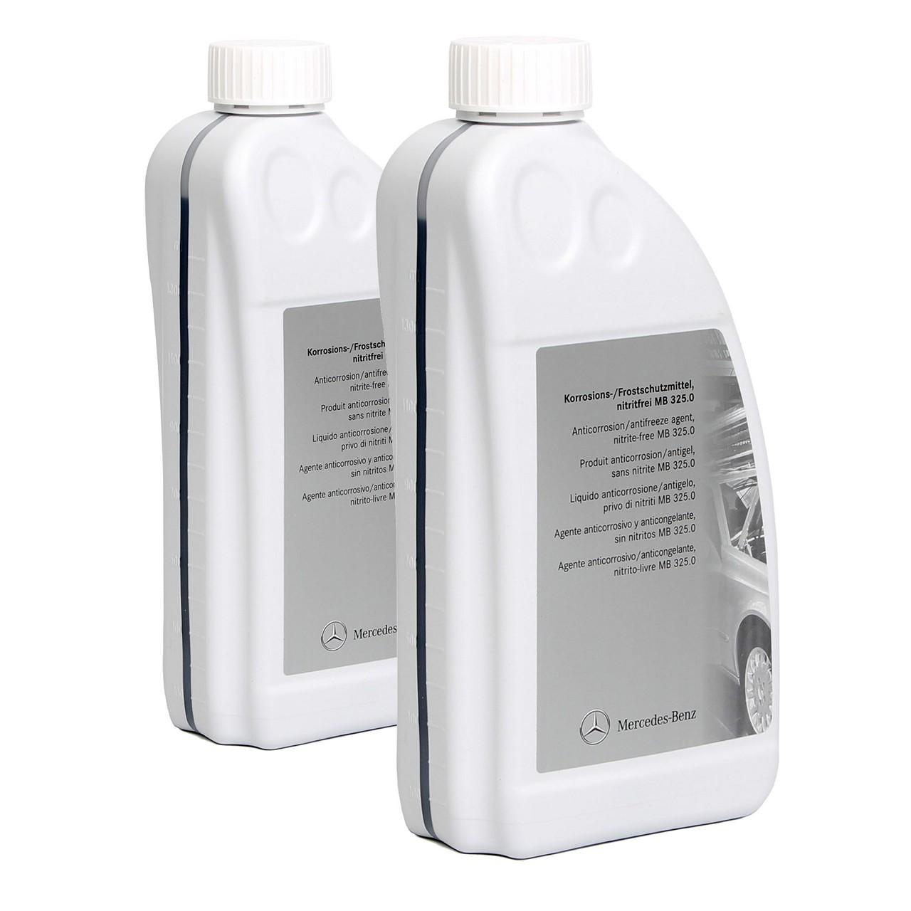 ORIGINAL Mercedes Korrosions- Frostschutzmittel MB 325.0 3,0 Liter 000989082510