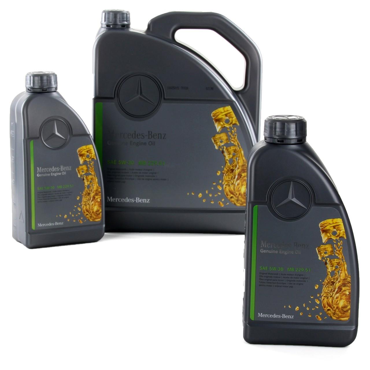 ORIGINAL Mercedes-Benz Motoröl Öl 5W-30 MB 229.51 7L 7 Liter 0009899402