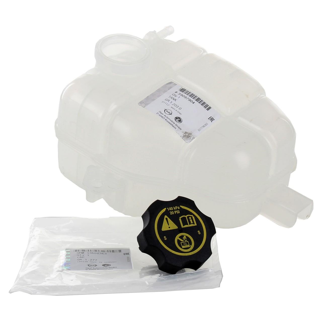 ORIGINAL Opel Ausgleichsbehälter Kühlmittelbehälter + Deckel MERIVA B 39097904