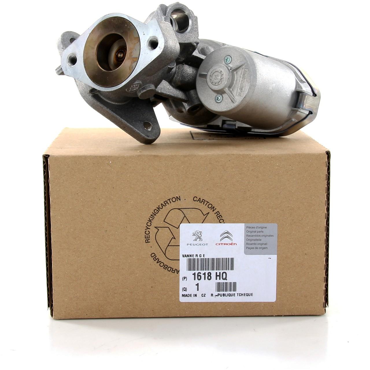 ORIGINAL Citroen Peugeot AGR Ventil JUMPER BOXER 2.2 HDi 101/120 PS 1618.HQ