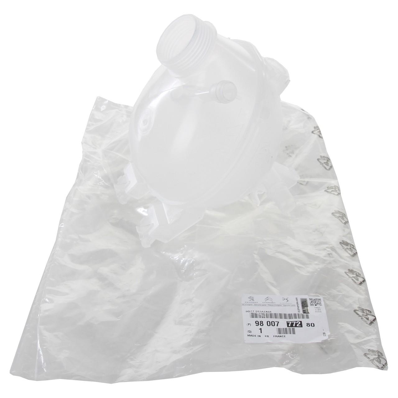 ORIGINAL PSA Ausgleichsbehälter Kühlmittelbehälter C2 C3 207 208 301 9800777280