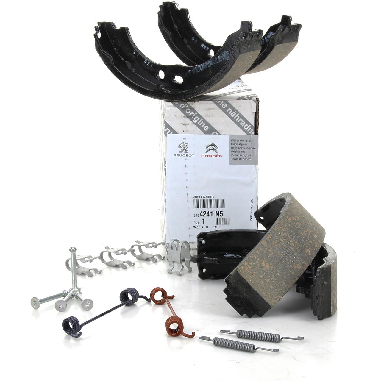 ORIGINAL Citroen Peugeot Bremsbacken Satz Jumper Boxer ab 2006 4241.N5 + Zubehör