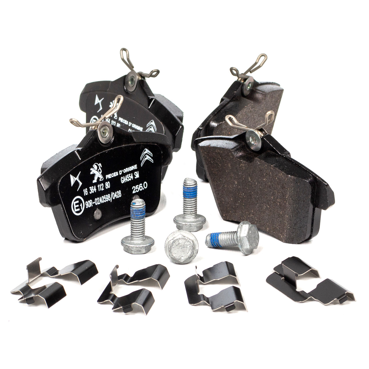 ORIGINAL PSA Bremsscheiben + Radlager + Bremsbeläge DS5 3008 5008 hinten