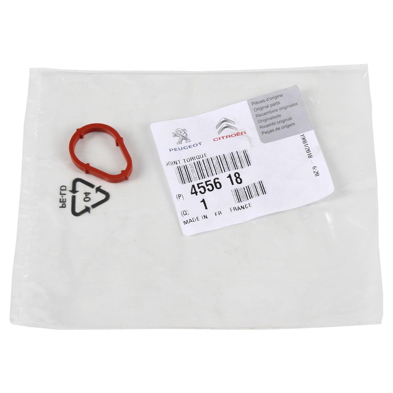 ORIGINAL Citroen Peugeot Dichtung O-Ring für Unterdruckpumpe Vakuumpumpe 4556.18