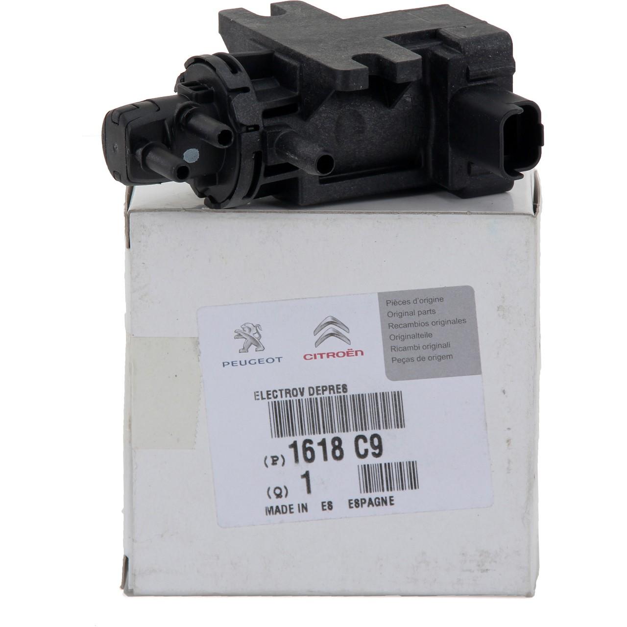 ORIGINAL Citroen Peugeot Druckwandler Magnetventil Elektroventil HDi 1618.C9