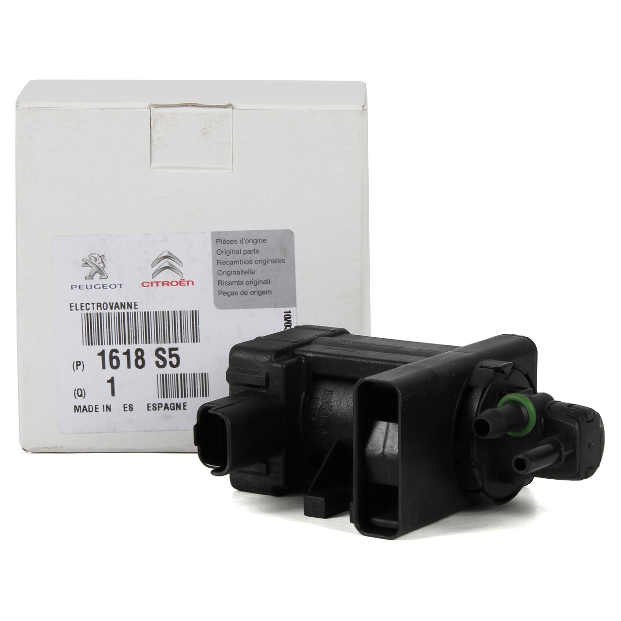 ORIGINAL Citroen Peugeot Druckwandler Magnetventil Elektroventil 2.0 HDi 1618.S5