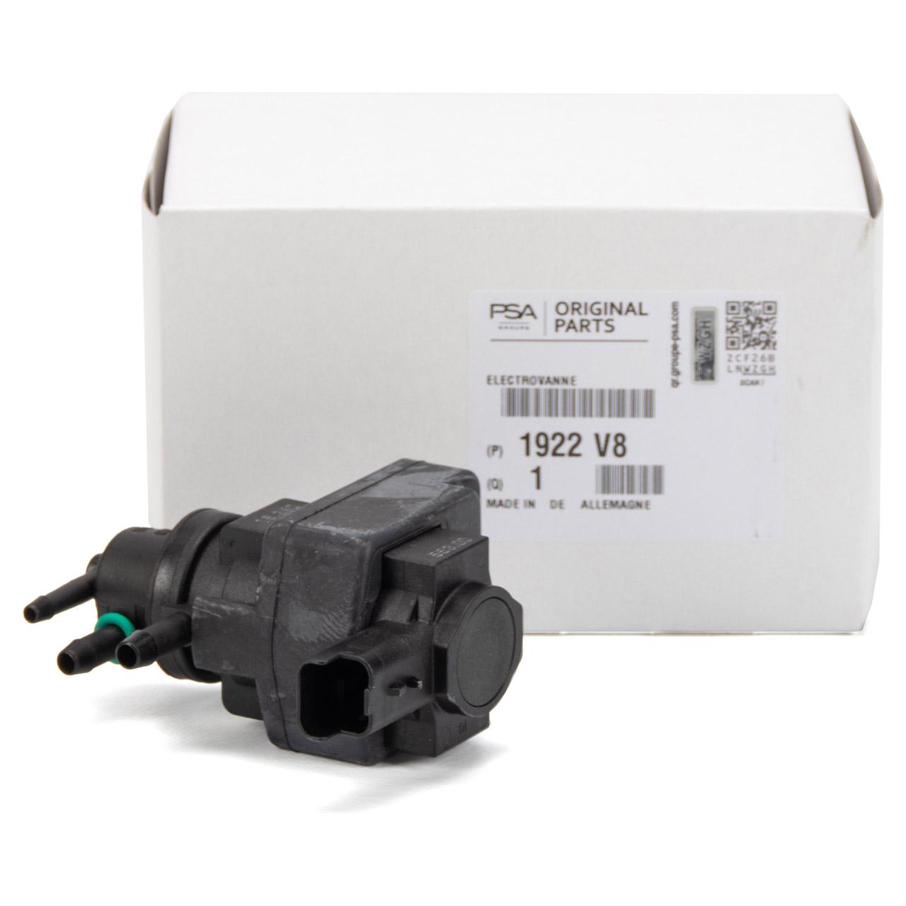 ORIGINAL PSA Druckwandler C4 DS3 DS4 DS5 208 3008 308 5008 508 1.6 16V 1922.V8