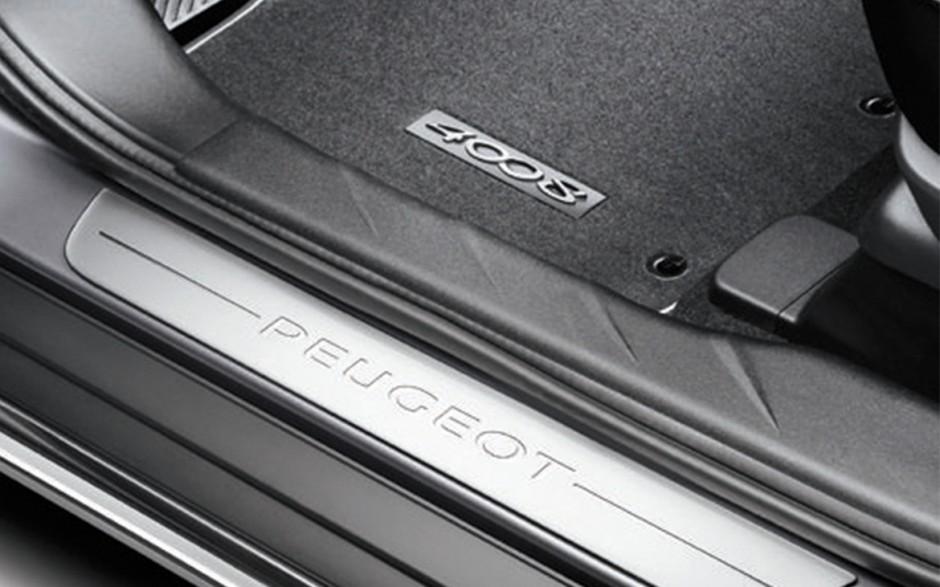 ORIGINAL Peugeot Einstiegsleiste Einstiegszierleiste Satz VORNE 1607555880