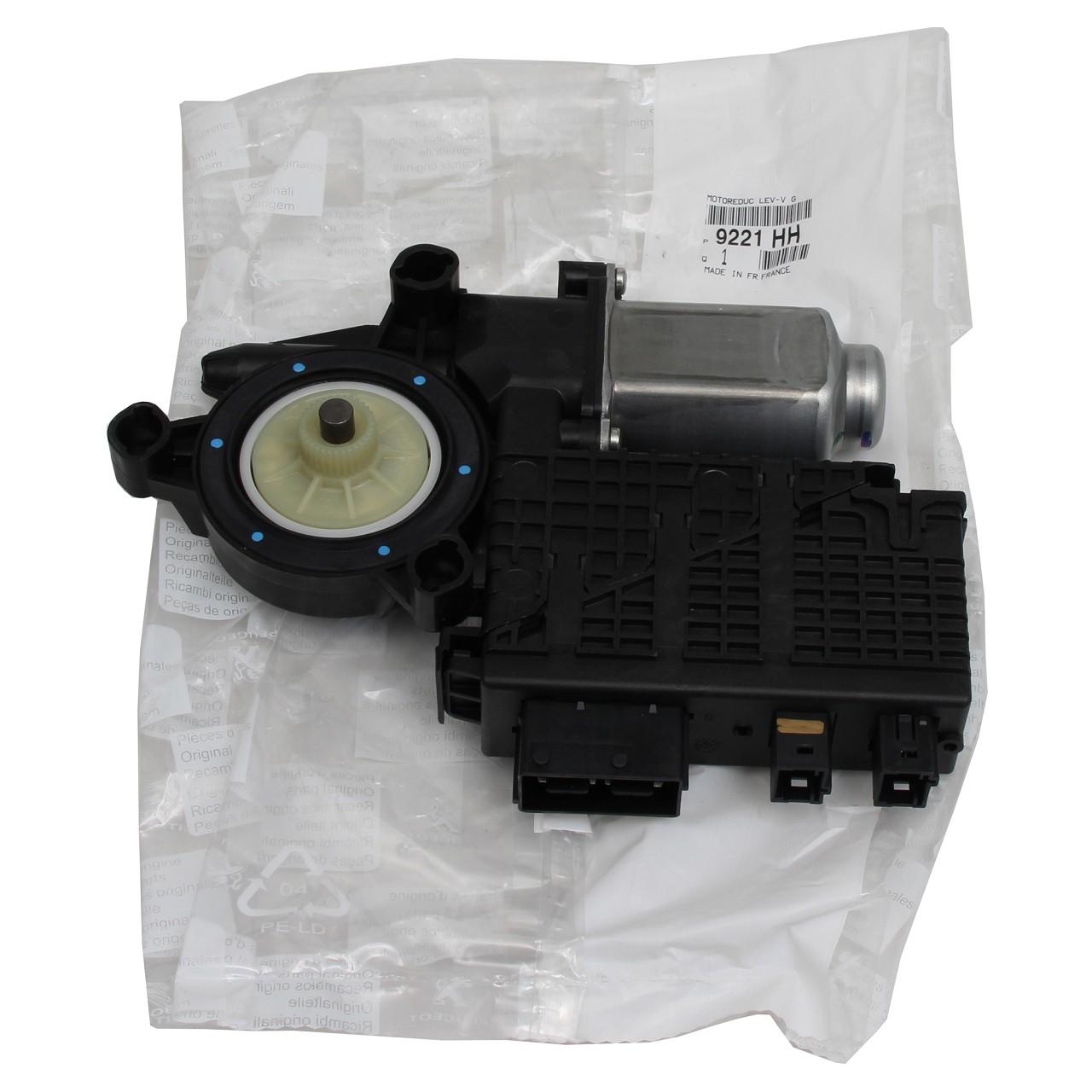 ORIGINAL Citroen Fensterhebermotor Motor f. Fensterheber VORNE LINKS 9221.HH