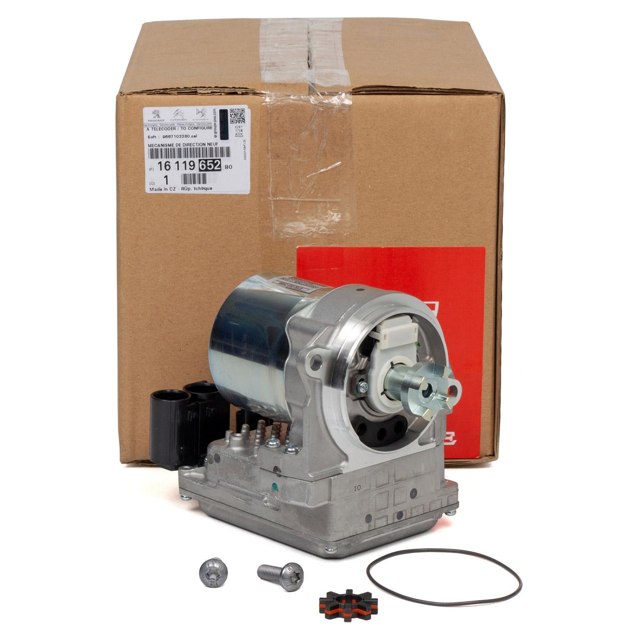 ORIGINAL Peugeot Pumpe für Lenkgetriebe Servolenkung 207 17 Zoll 1611965280