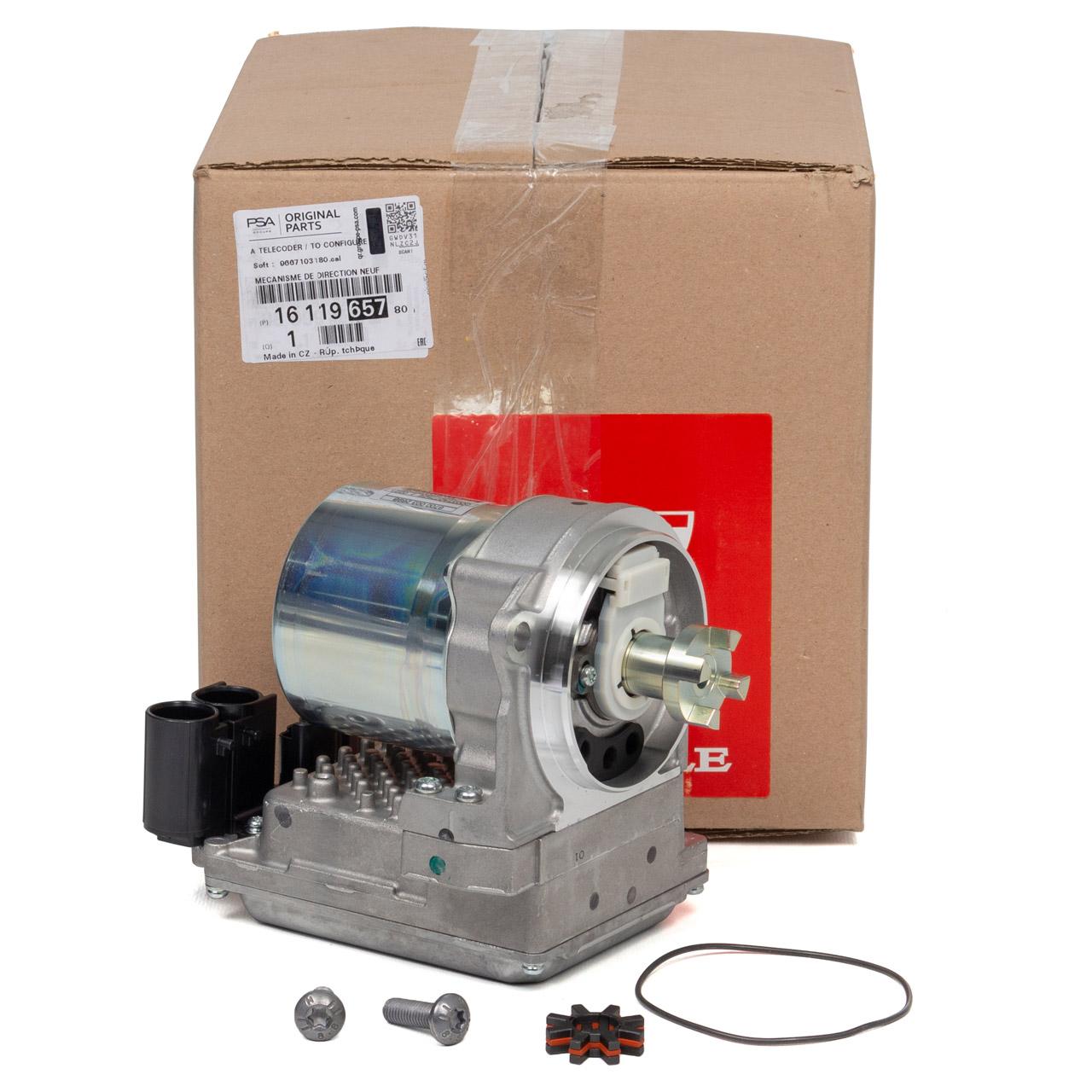 ORIGINAL Peugeot Pumpe für Lenkgetriebe Servolenkung 207 16 Zoll 1611965780
