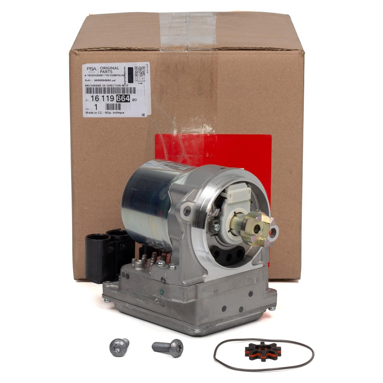 ORIGINAL Citroen Elektromotor für Servolenkung C3 Picasso (SH_) 1611966480
