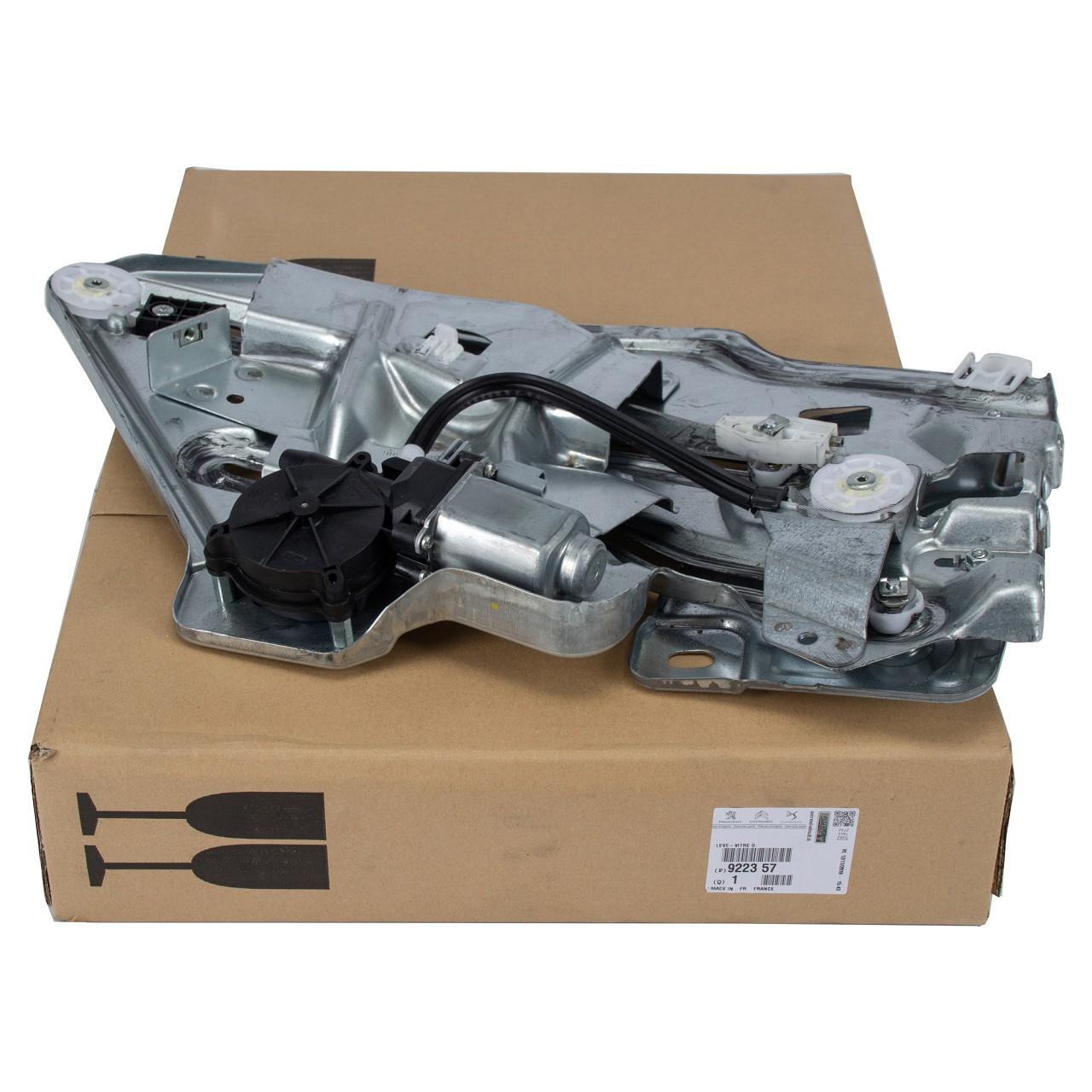 ORIGINAL Peugeot Fensterheber elektrisch + Motor 206 CC 2D hinten links 9223.57