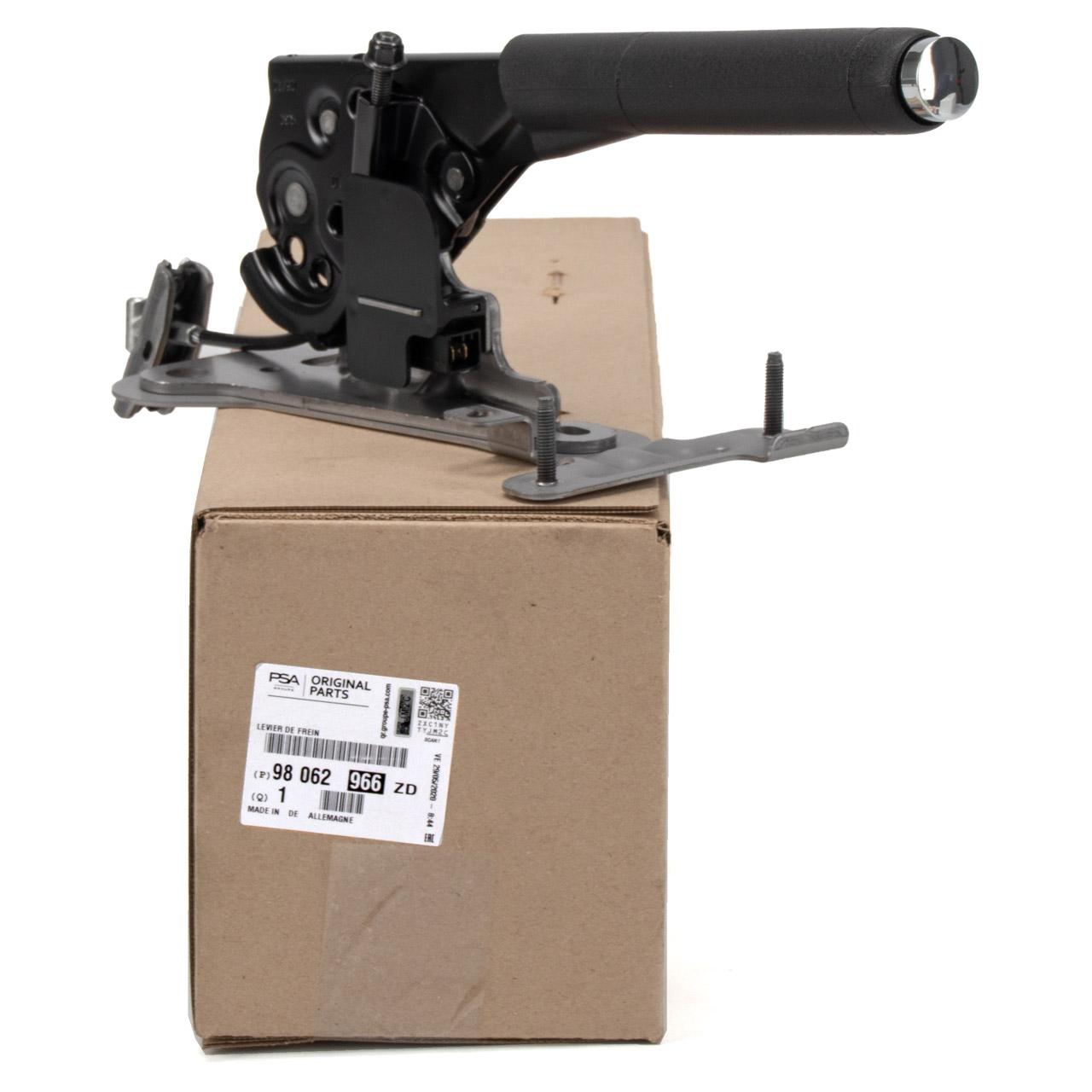 ORIGINAL PSA Handbremshebel Handbremsgriff DS3 207 CC / SW 98062966ZD