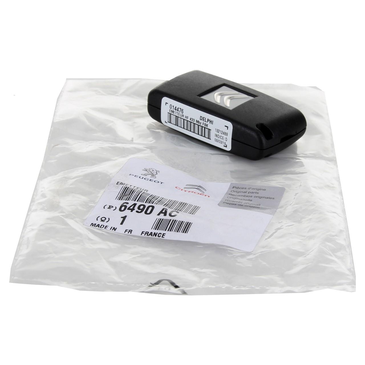 ORIGINAL Citroen Sender Funkfernbedienung Fernbedienung JUMPY 6490.AC