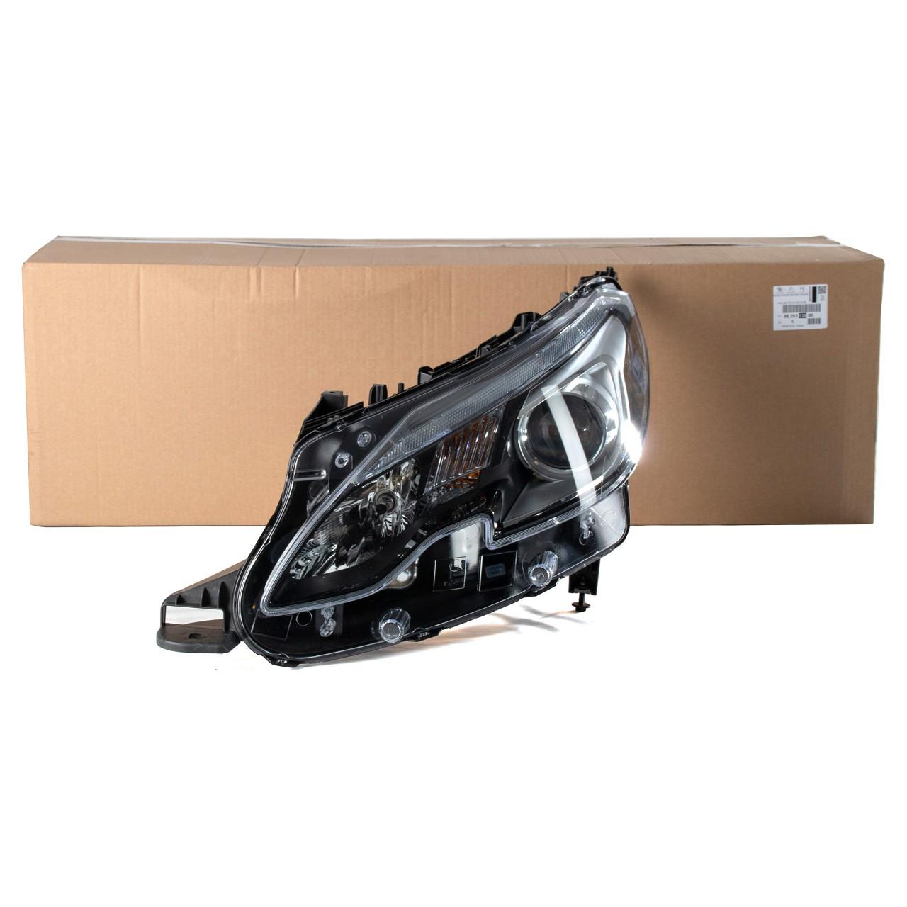 ORIGINAL Peugeot Scheinwerfer HALOGEN 2008 (CU_) links 9825313980