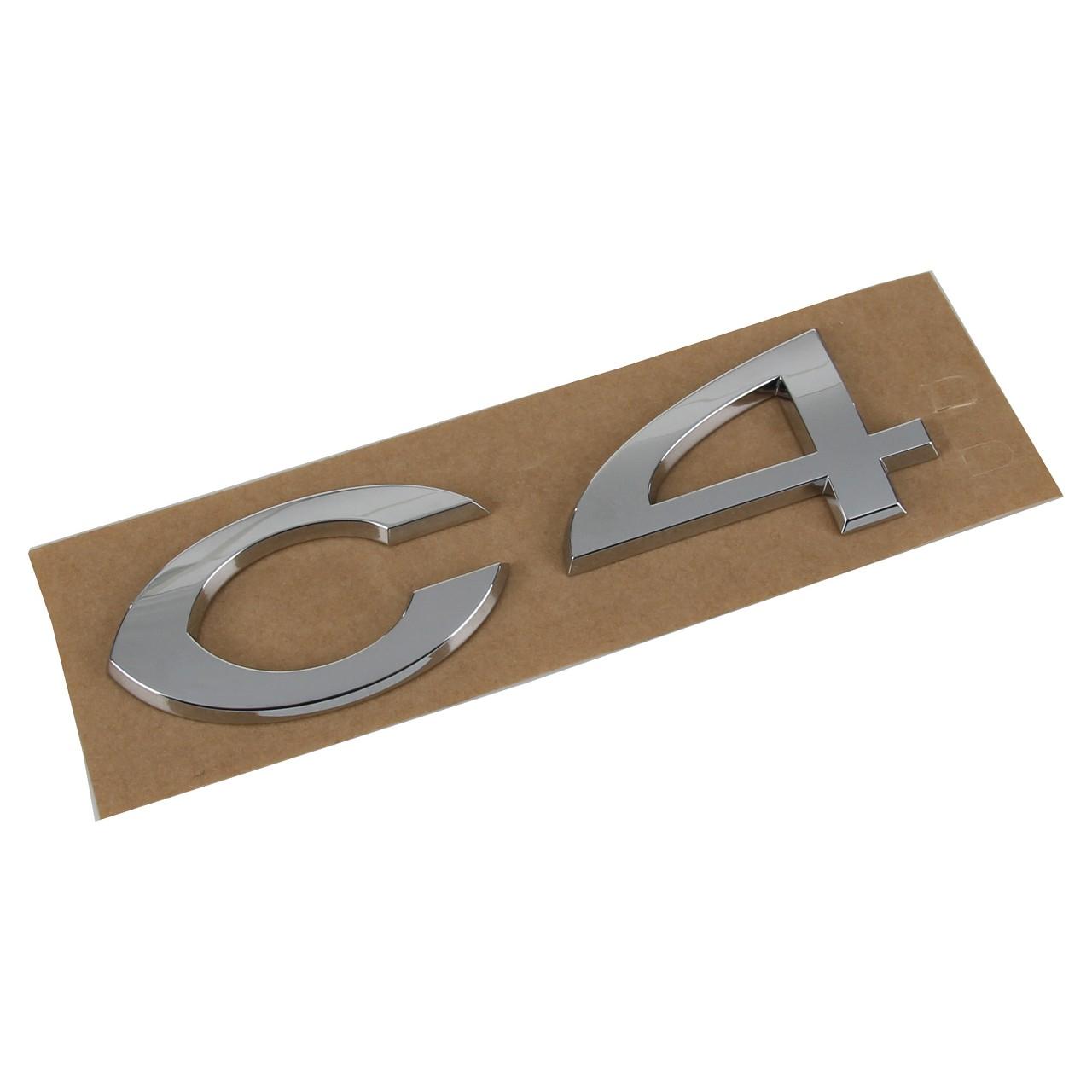 ORIGINAL Citroen Emblem Logo Schriftzug Heckklappe RECHTS 8665.EQ für C4 I