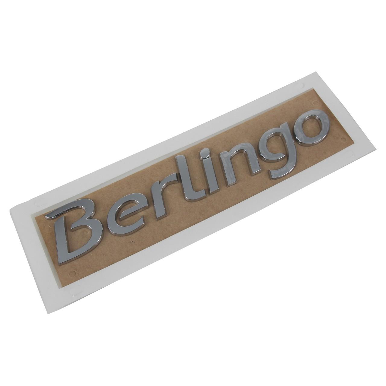 ORIGINAL Citroen Emblem Logo Schriftzug Heckklappe 8666.08 für BERLINGO