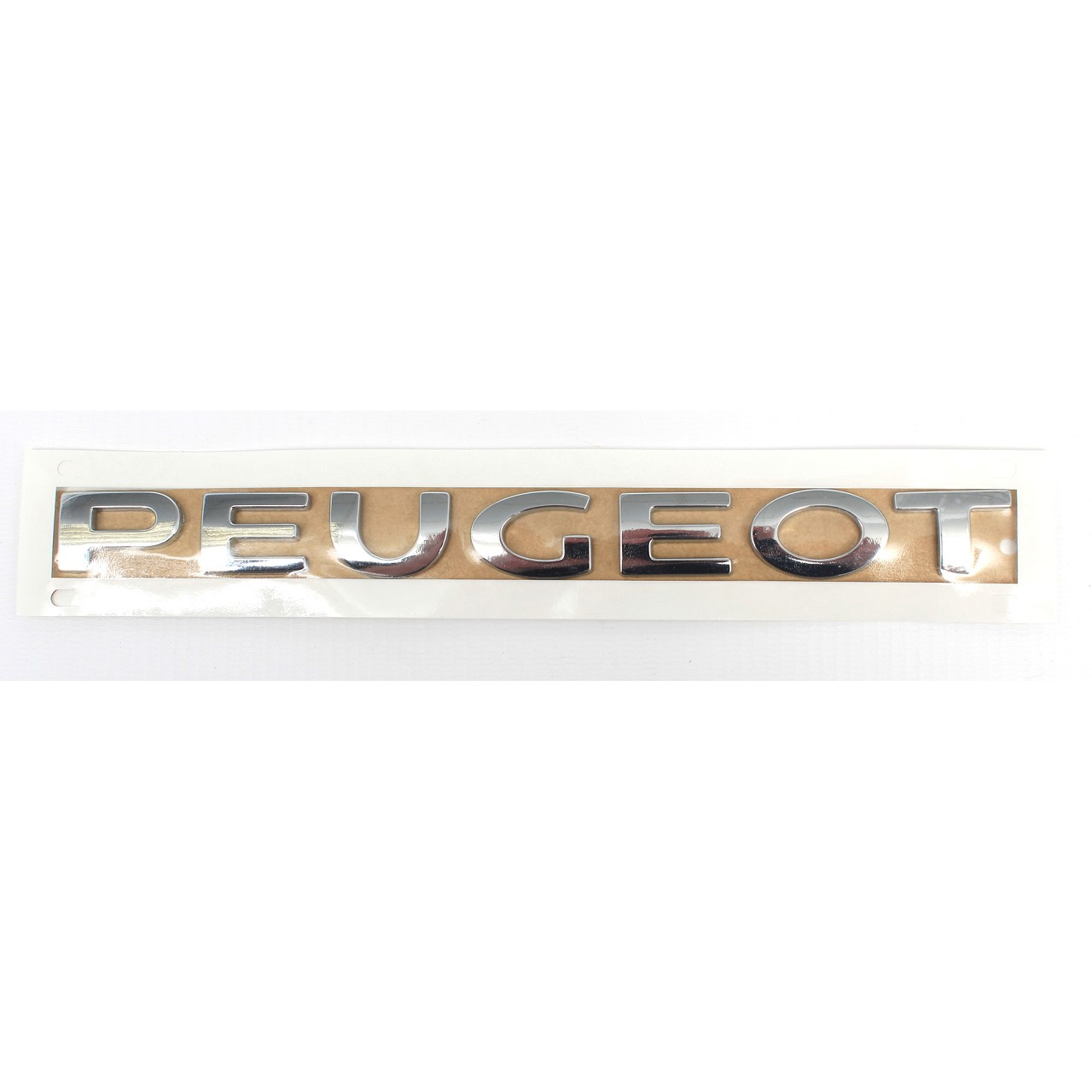 ORIGINAL Peugeot Emblem Plakette Logo Schriftzug Heckklappe 3008 5008 8666.72