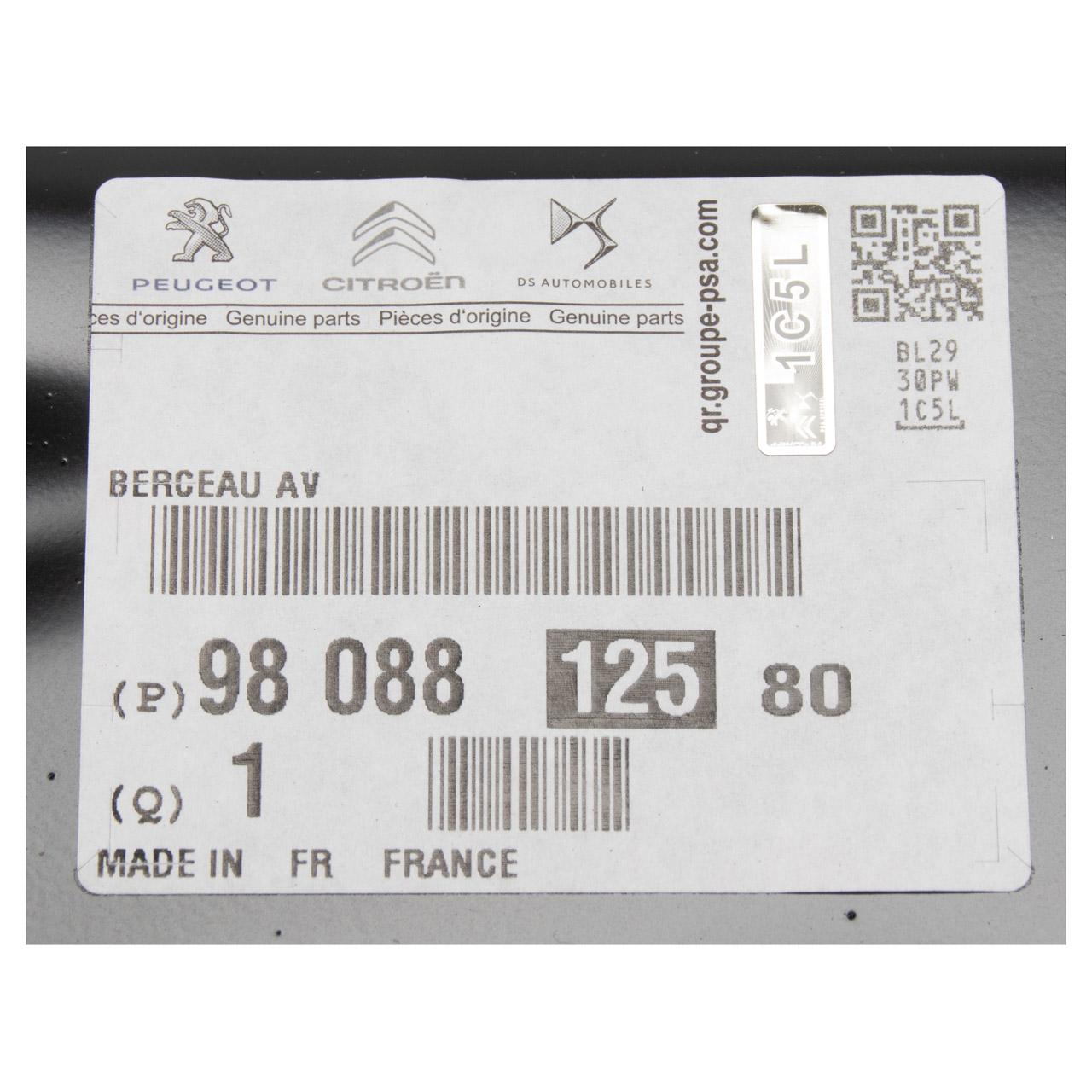 ORIGINAL Citroen Peugeot Achskörper Achsträger Berlingo 5008 2 Partner Rifter 9808812580