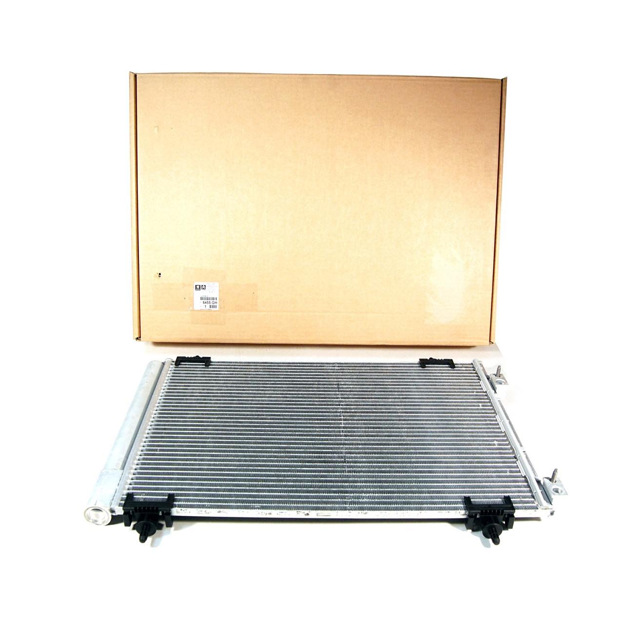 ORIGINAL Citroen Peugeot Kondensator Klimakondensator Klimakühler 6455.GH