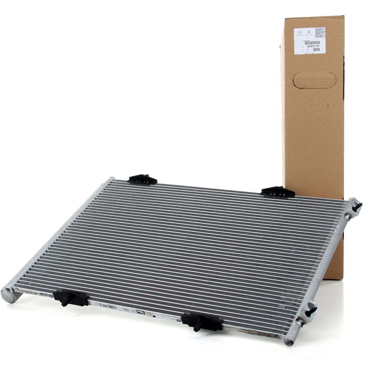 ORIGINAL Citroen Peugeot Kondensator Klimakondensator Klimakühler 6455.HF