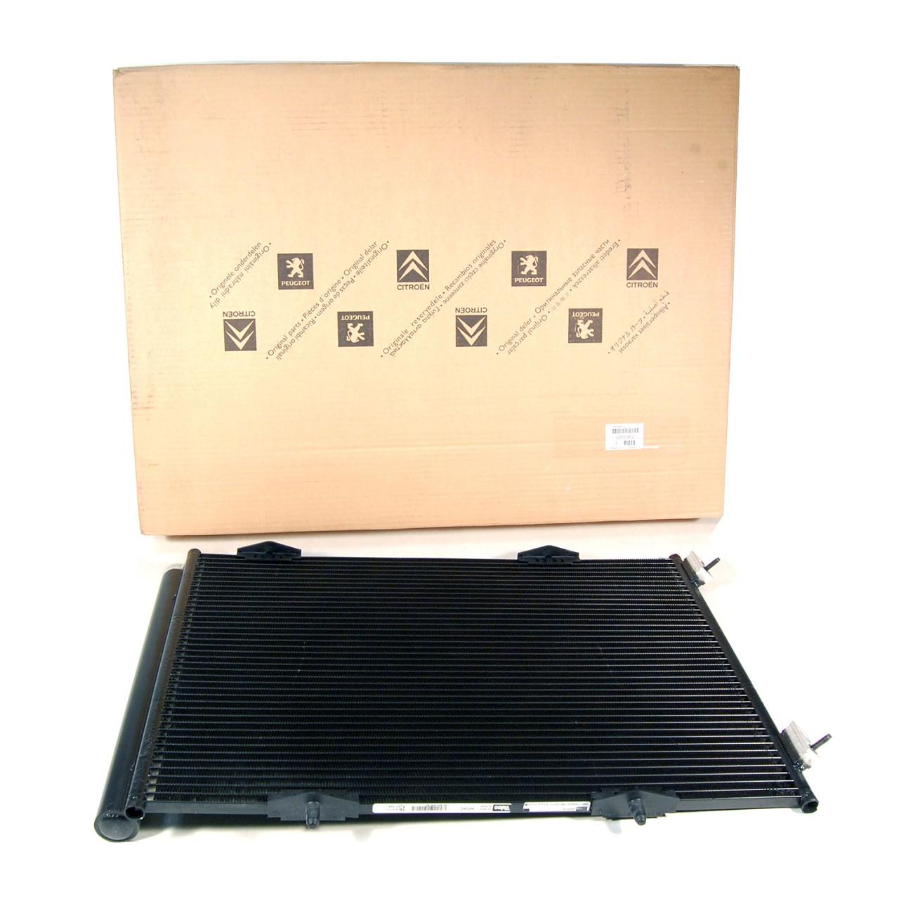 ORIGINAL Citroen Peugeot Kondensator Klimakondensator Klimakühler 6455.HG