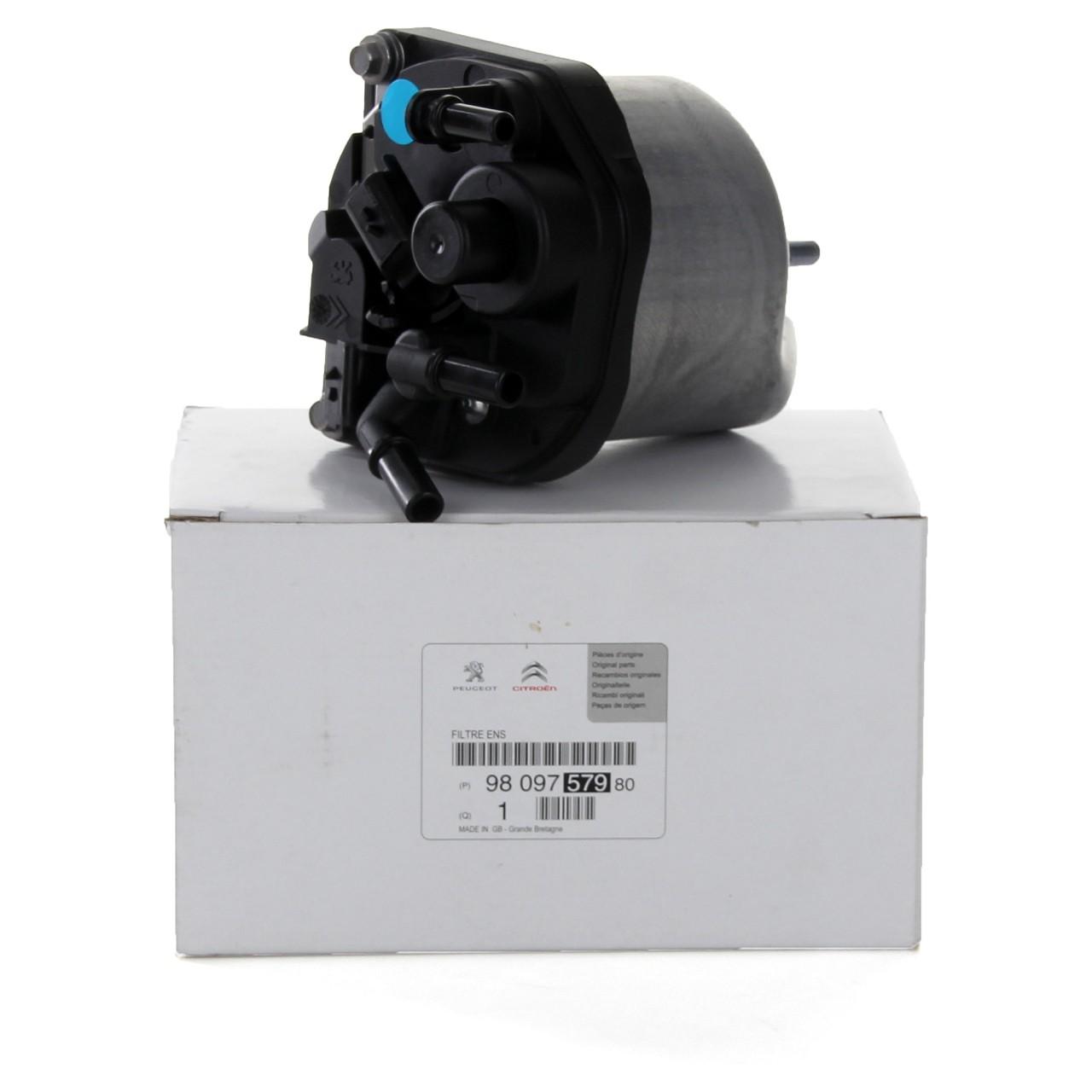 ORIGINAL Citroen Peugeot Kraftstofffilter Dieselfilter Boxer 2.2HDi 9809757980