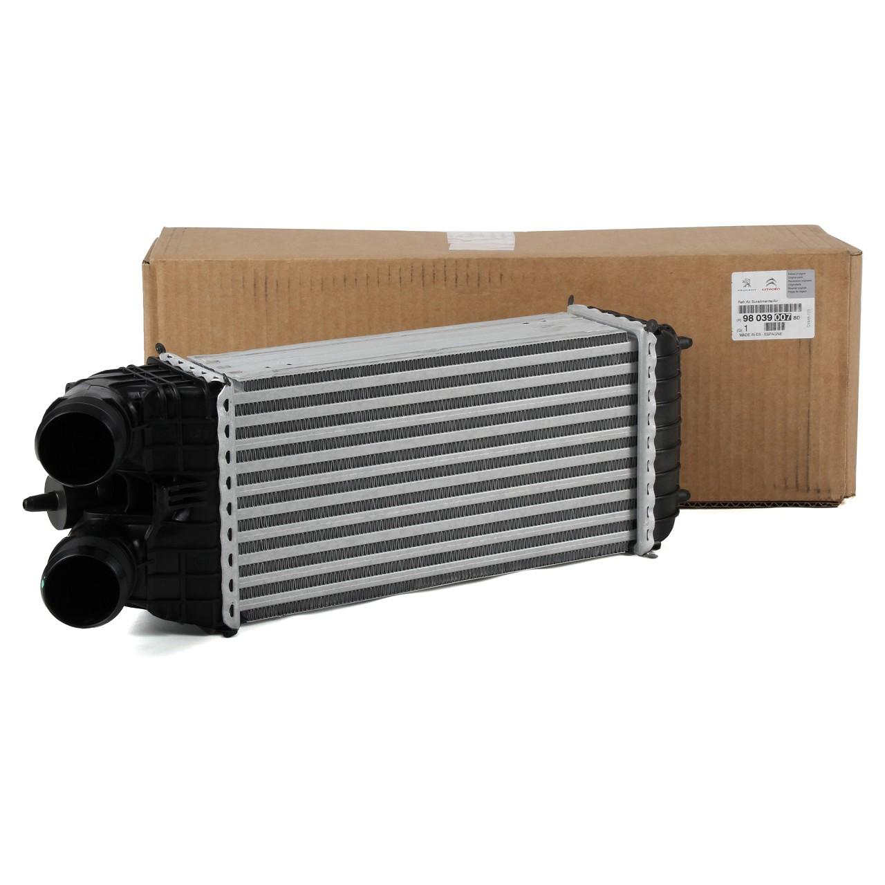 ORIGINAL Citroen Peugeot Ladeluftkühler Turbokühler Intercooler LLK 9803900780