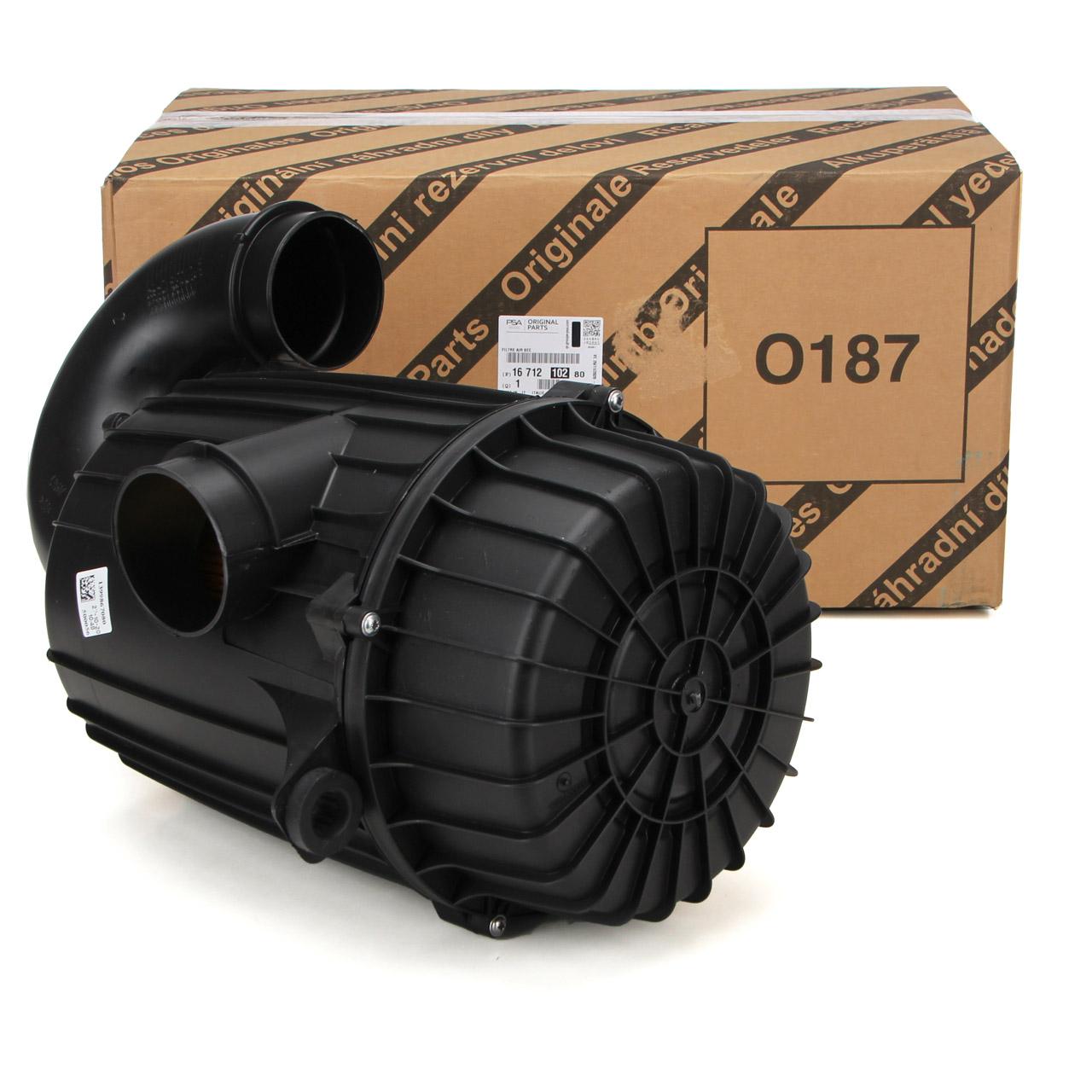 ORIGINAL PSA Luftfiltergehäuse Luftfilterkasten Jumper Boxer 1671210280