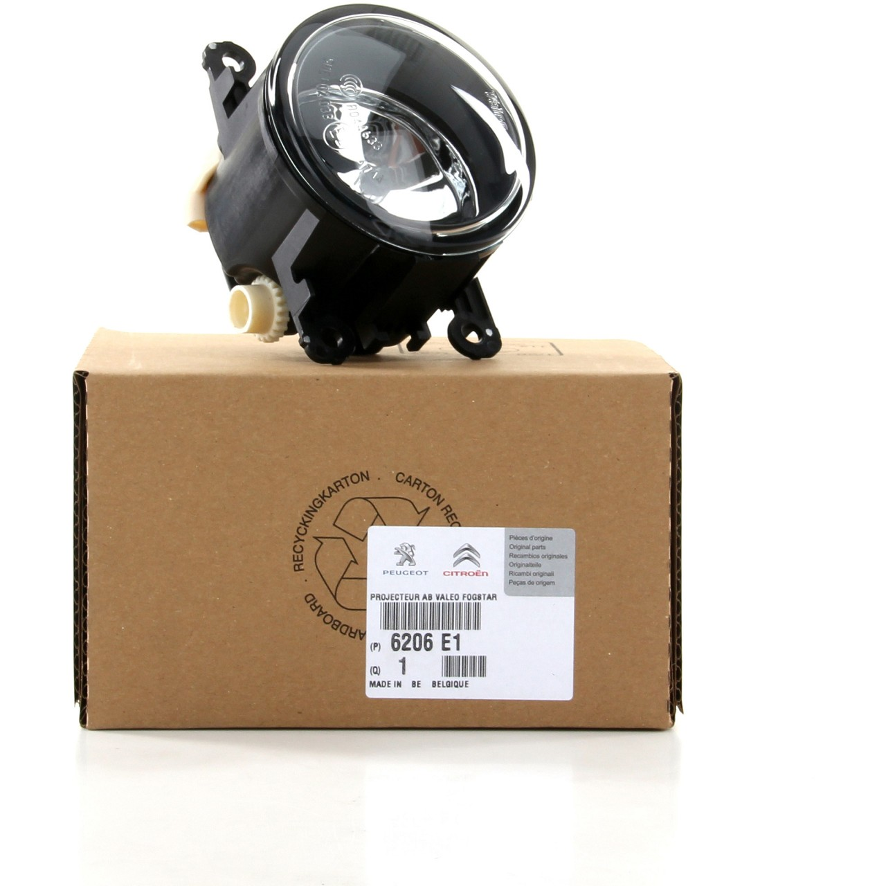 ORIGINAL Citroen Peugeot Nebelscheinwerfer Nebelleuchte Nebellicht 6206.E1