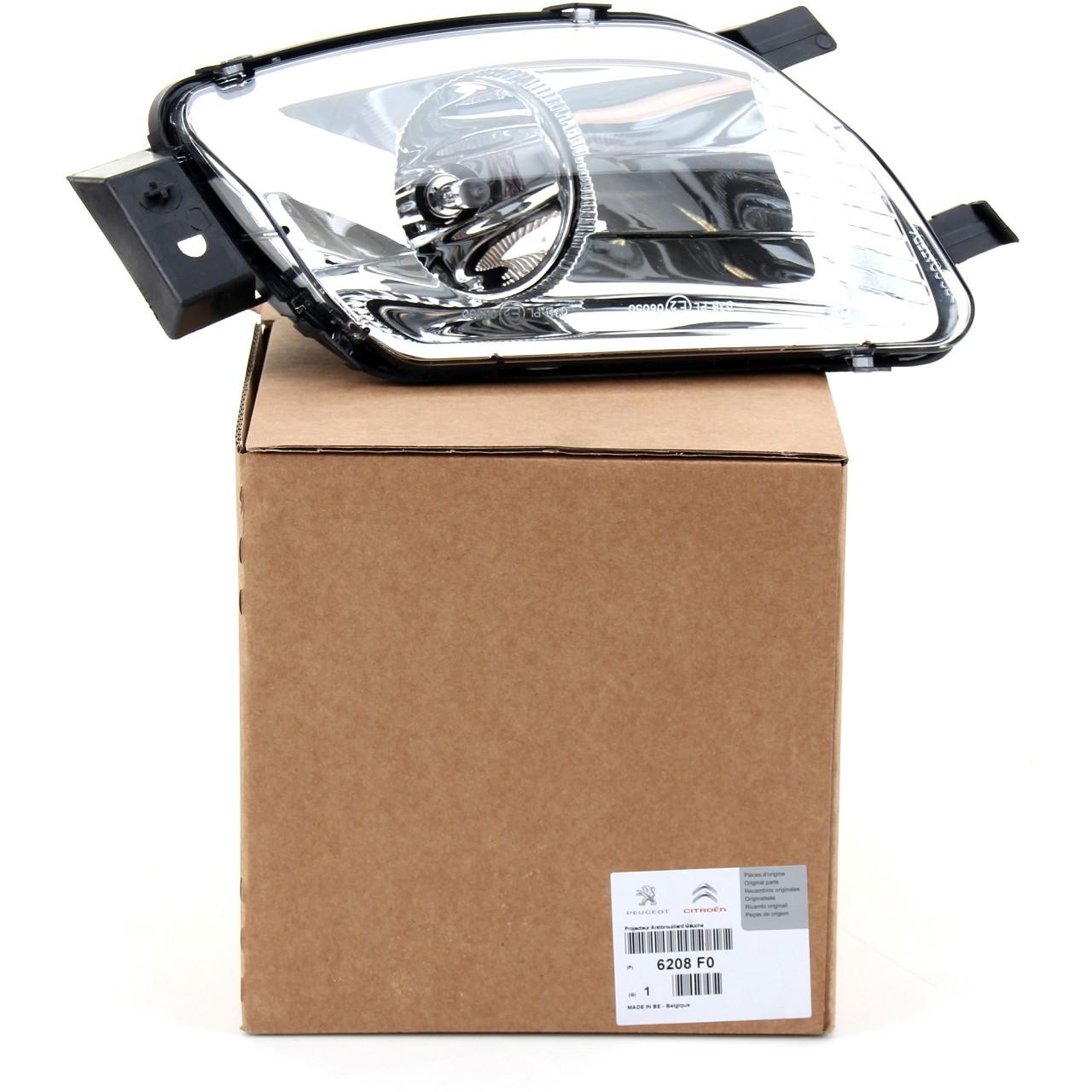 ORIGINAL Peugeot Nebelscheinwerfer Nebelleuchte Nebellicht 308 RCZ links 6208.F0