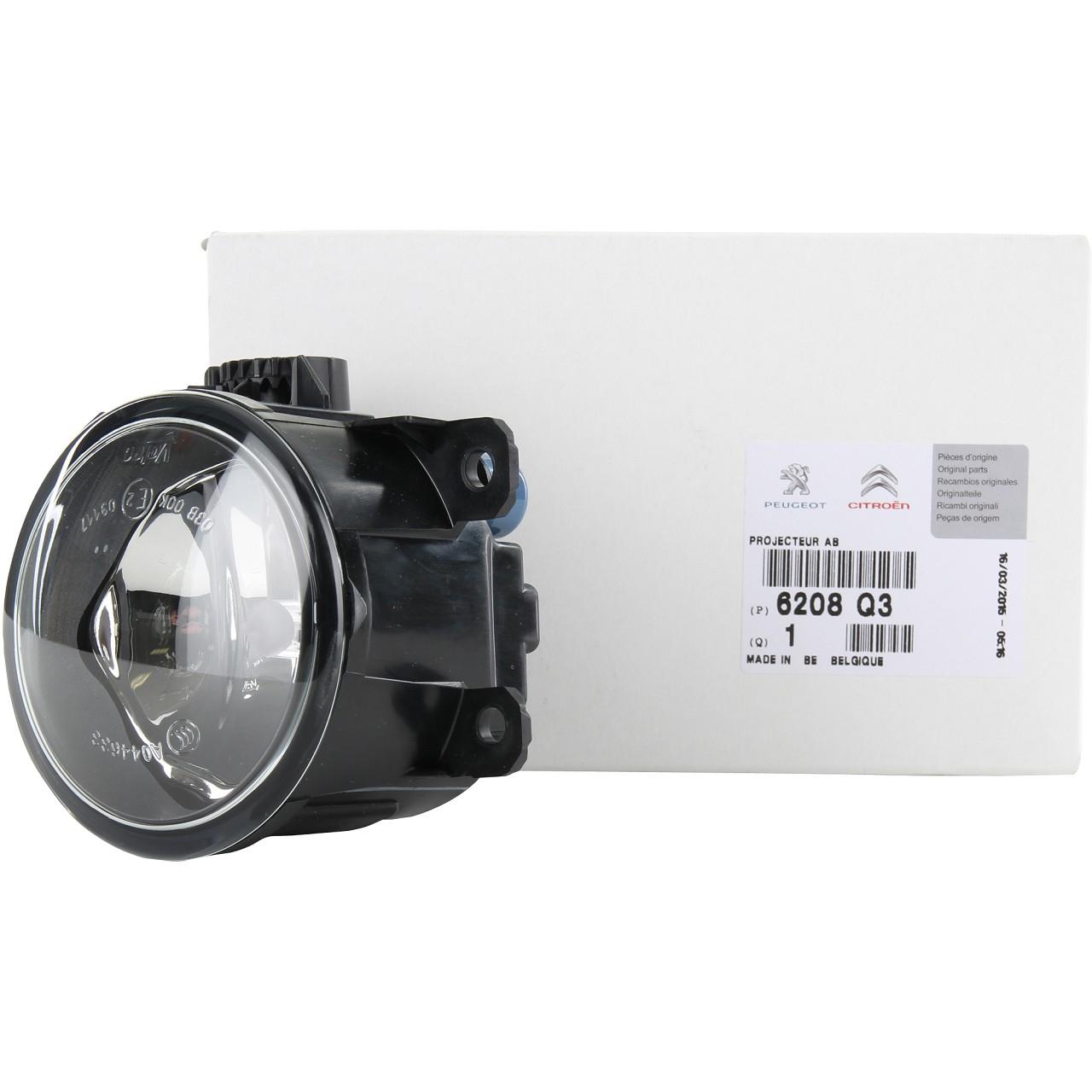 ORIGINAL Citroen Peugeot Nebelscheinwerfer Nebelleuchte Nebellicht H11 6208.Q3