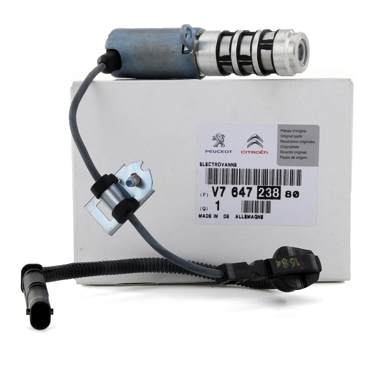 ORIGINAL Peugeot Öldruckventil 2008 207 208 3008 308 5008 508 RCZ V764723880
