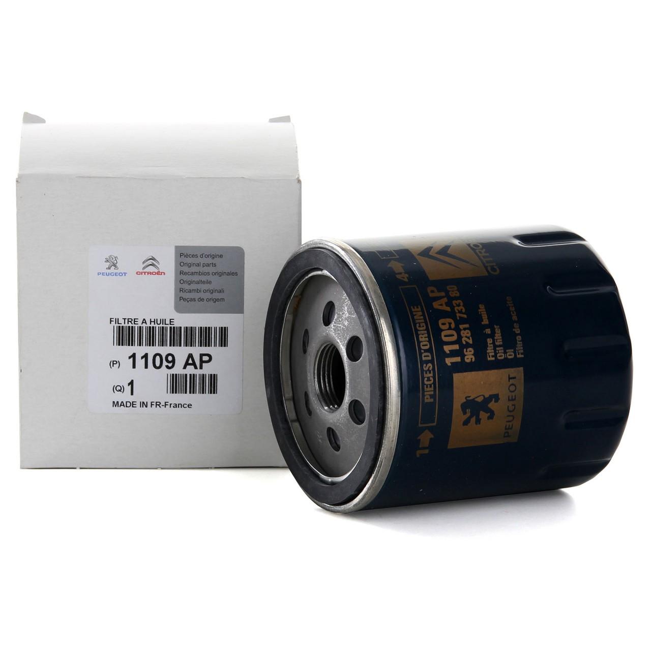 ORIGINAL Citroen Peugeot Ölfilter Motorölfilter C5 C6 C8 106 206 306 407 1109.AP
