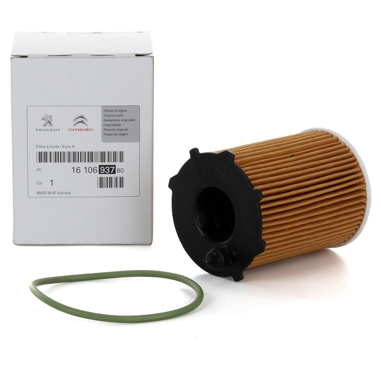 ORIGINAL Citroen Peugeot Ölfilter Motorölfilter 1.6HDi 68-120 PS1610693780