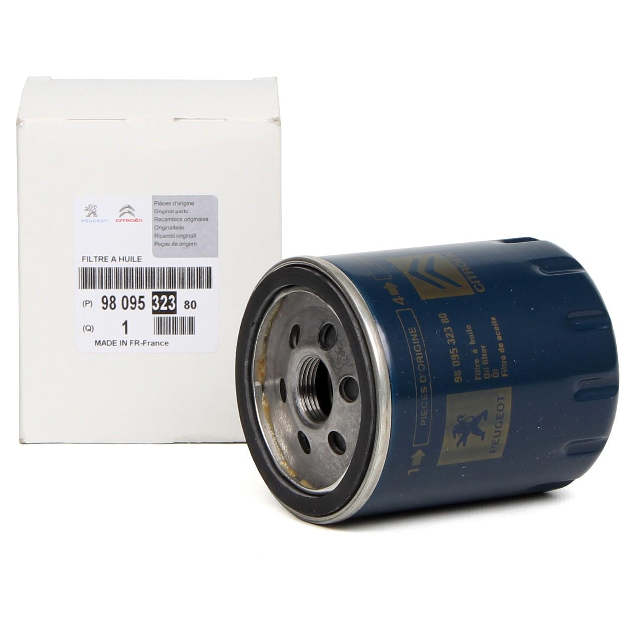 ORIGINAL Citroen Peugeot Ölfilter JUMPER BOXER 2.0 BlueHDi 9809532380
