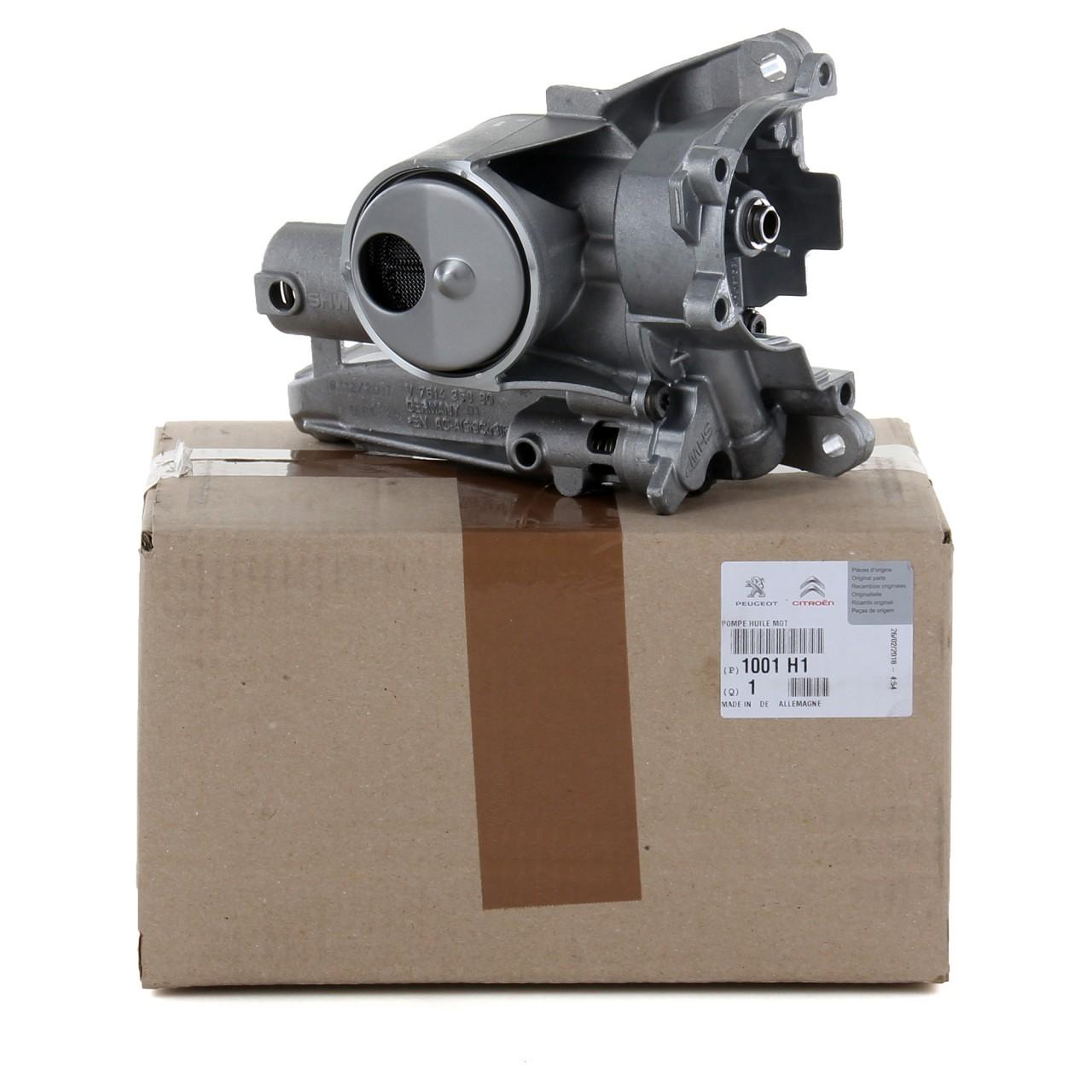 ORIGINAL Citroen Peugeot Ölpumpe C3 PICASSO C4 DS3 207 308 1.4 1.6 1001.H1