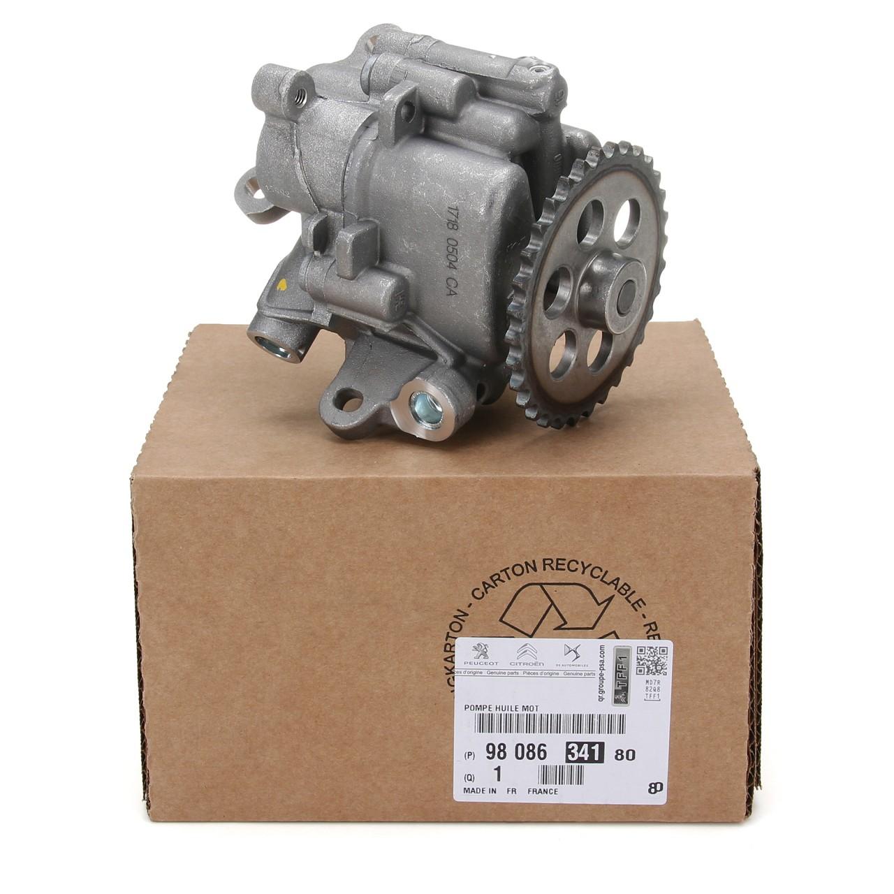 ORIGINAL Citroen Peugeot Ölpumpe JUMPER BOXER 2.2 HDi 110-150 PS 9808634180