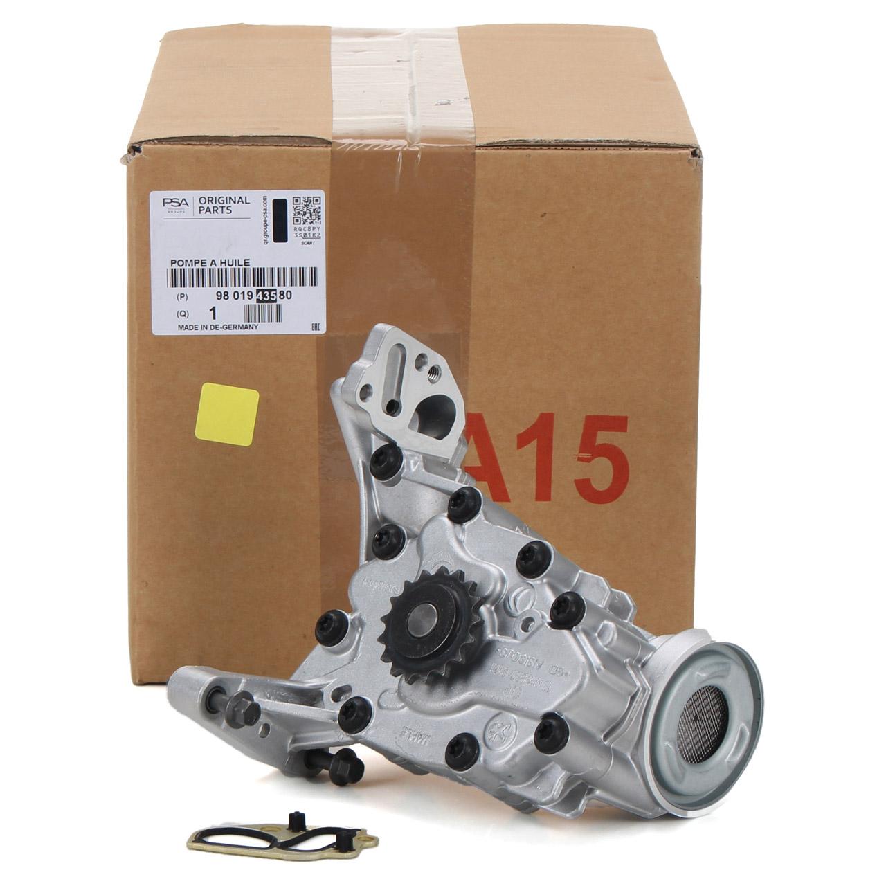 ORIGINAL PSA Ölpumpe Berlingo C3 C4 208 308 Partner Rifter 1.2 THP 9837408880