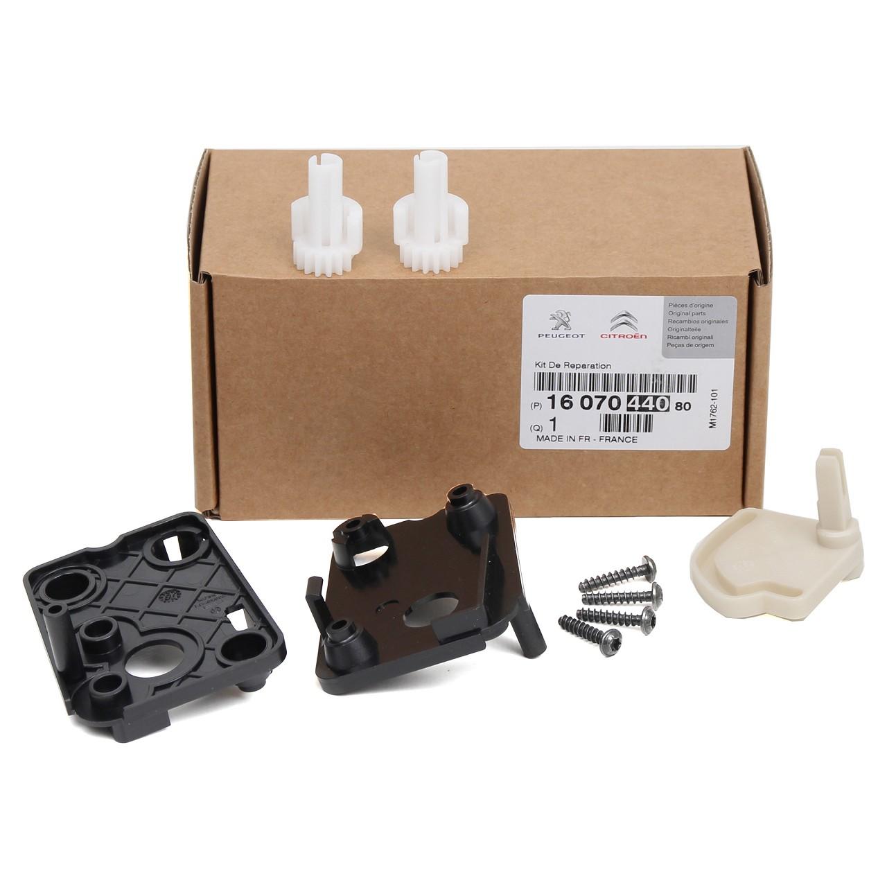 ORIGINAL Citroen Peugeot Reparatursatz Heizklappenritzel C4 307 1607044080
