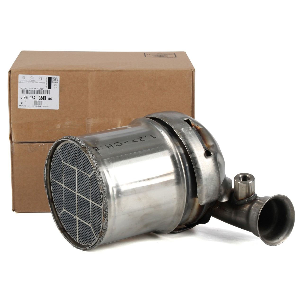 ORIGINAL PSA Rußpartikelfilter C3 II DS3 2008 206+ 207 208 1.4 HDi 9677468180