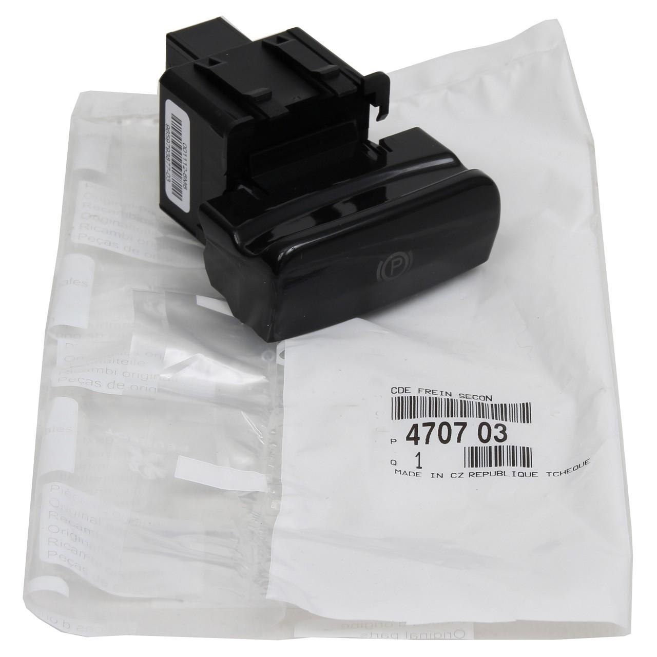 ORIGINAL Citroen Schalter Feststellbremse C4 II C4 PICASSO I DS4 4707.03S