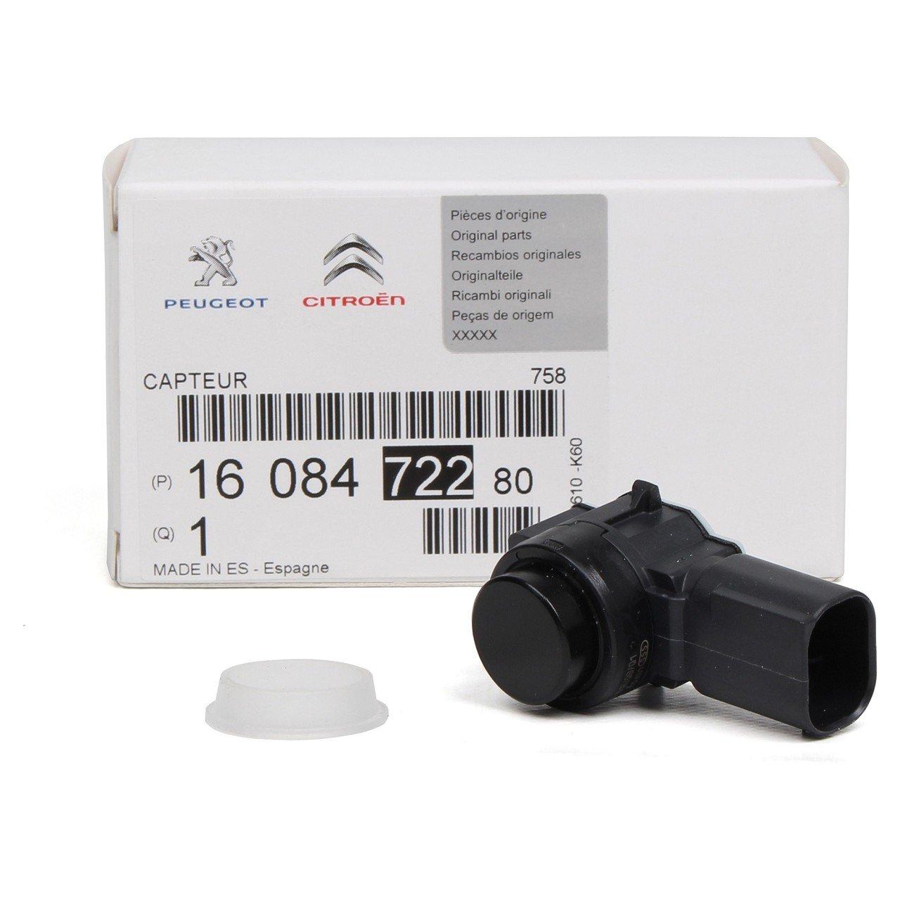 ORIGINAL PSA Sensor Einparkhilfe Einparksensor Rückfahrsensor HINTEN 1608472280
