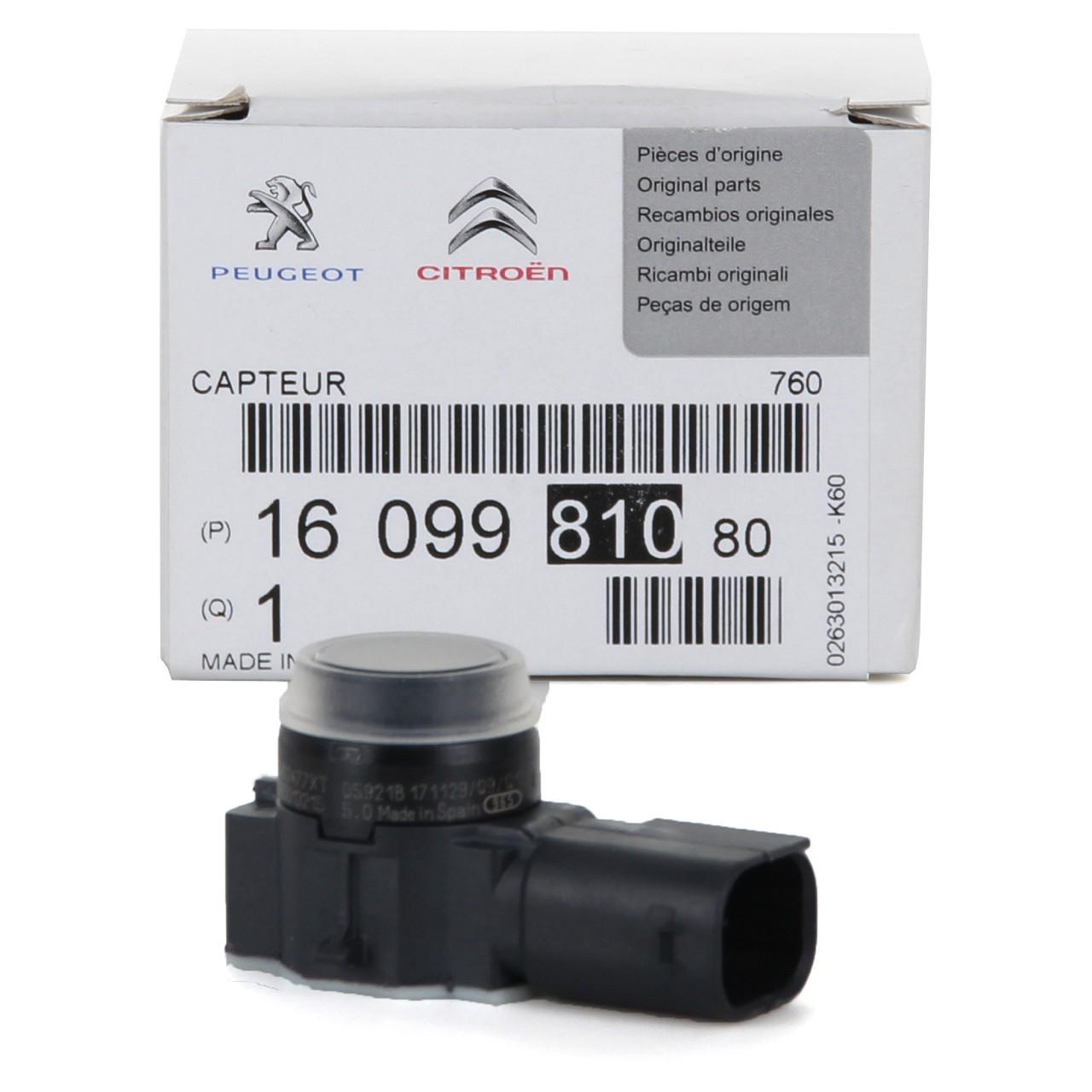 ORIGINAL PSA Sensor Einparkhilfe Einparksensor Rückfahrsensor HINTEN 1609981080